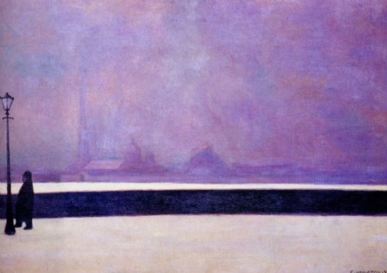 Vallotton, Felix: Light Fog. Fine Art Print/Poster. Sizes: A4/A3/A2/A1 (003091)
